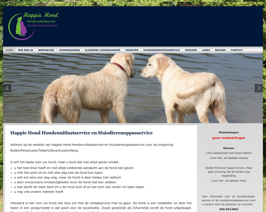 Happie Hond Logo