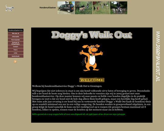 Hondenuitlaatservice Doggy's Walk Out Logo
